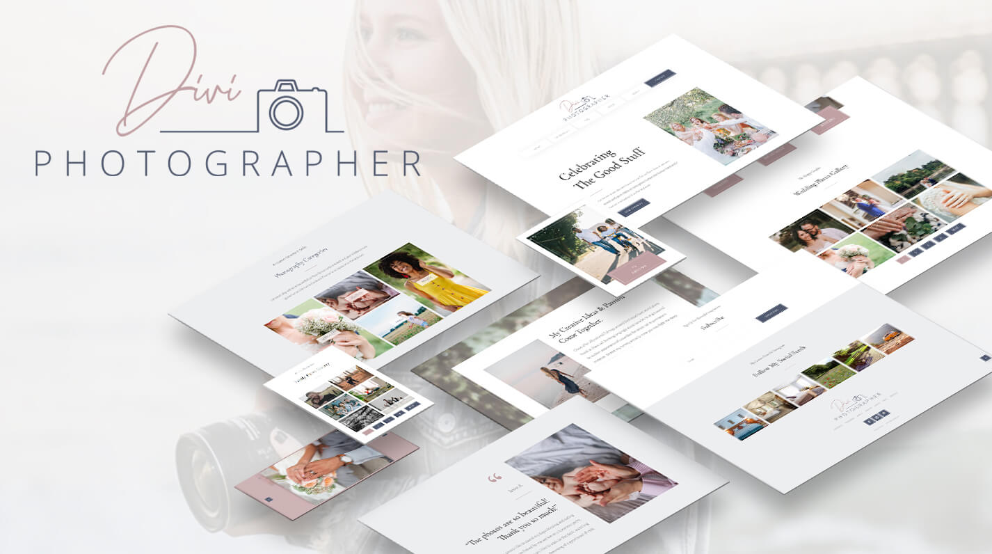 Divi Photographer Child Theme by Pee Aye Creative Product Featured Image