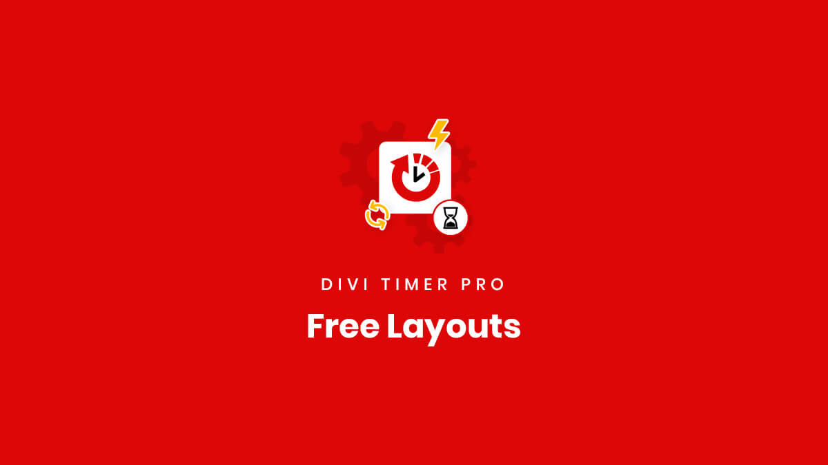 Free Bonus Demo Layouts for the Divi Timer Pro Plugin by Pee Aye Creative