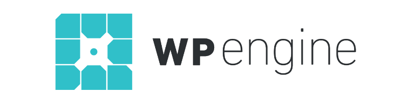 WP Engine Logo Best Host for Divi