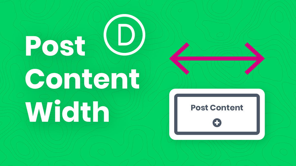 How To Fix The Divi Theme Builder Post Content Module Width
