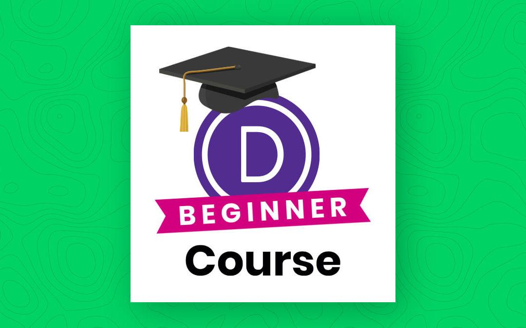 Divi Beginner Course