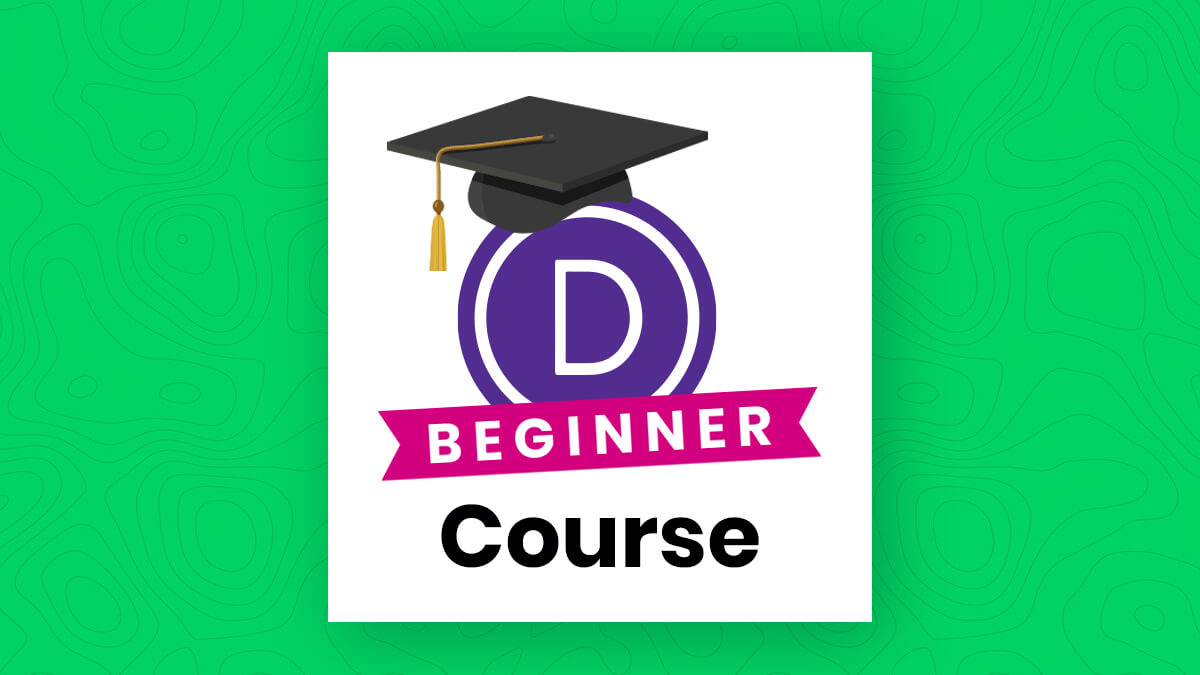 Introducing the Divi Beginner Course by The Divi Teacher at Pee Aye Creative