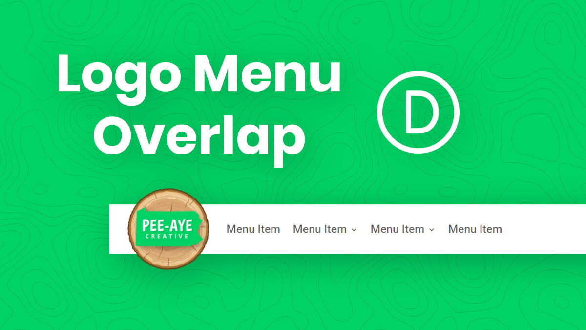How To Make The Logo Taller And Overlap The Divi Menu Module