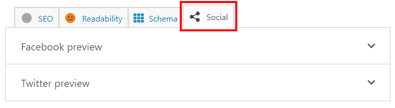 configure the social sharing settings in Yoast SEO for Divi