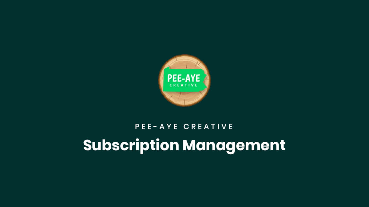Product Subscription Management