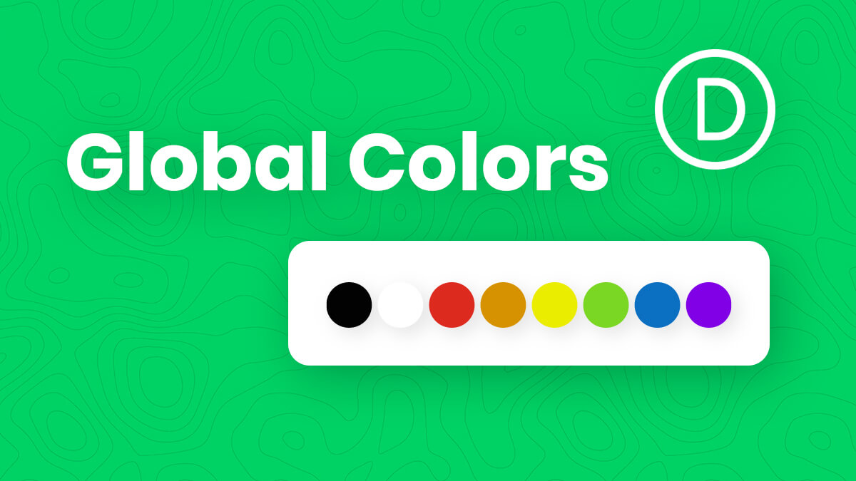 How To Use The New Divi Global Colors System