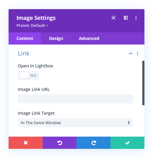 Divi Image overlay will not show without a link