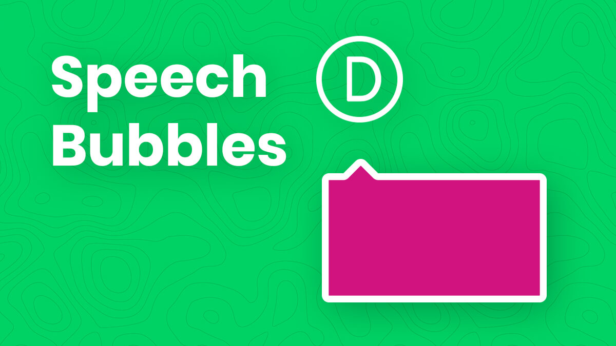 How To Create Speech Bubbles In Divi