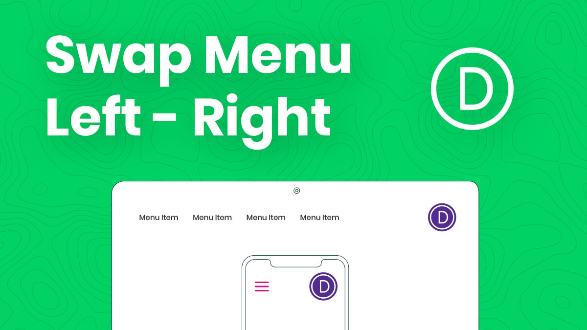 How To Move The Divi Menu To The Left And Logo To The Right Tutorial by Pee Aye Creative