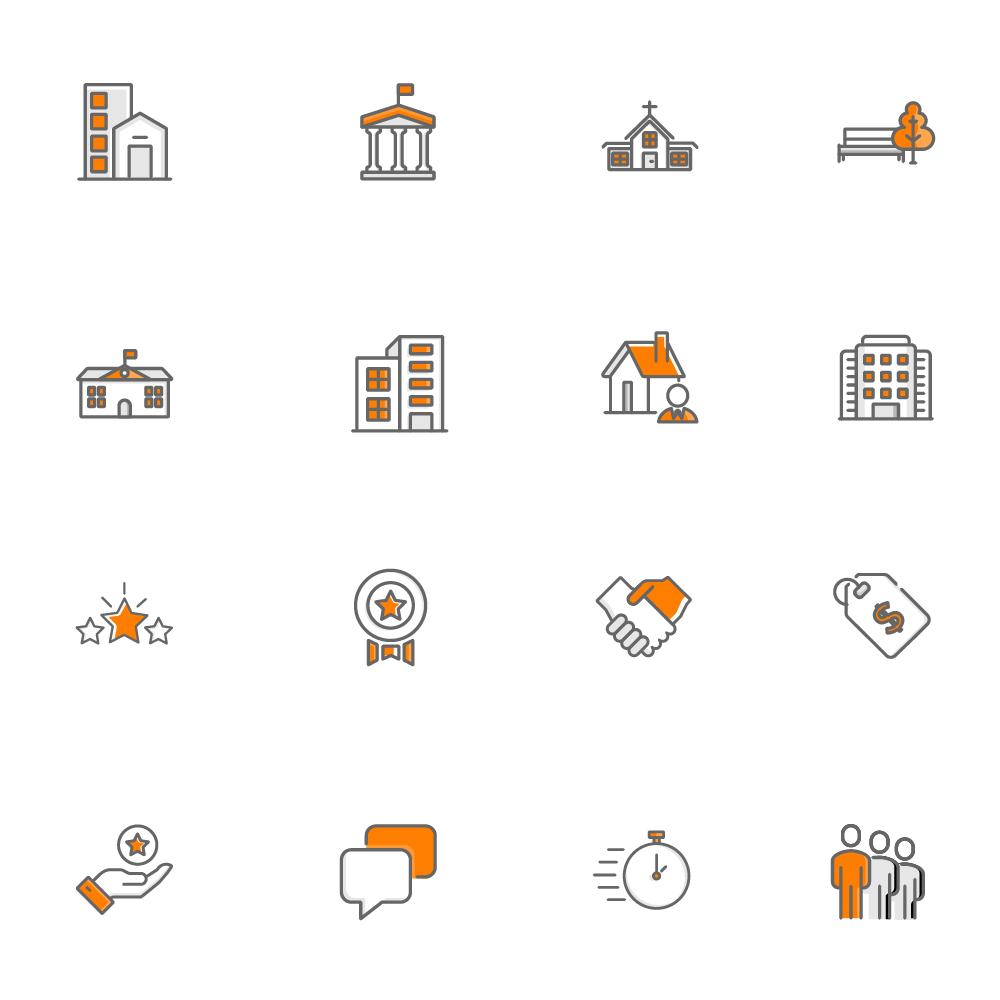 Divi Paving Child Theme Custom Icons