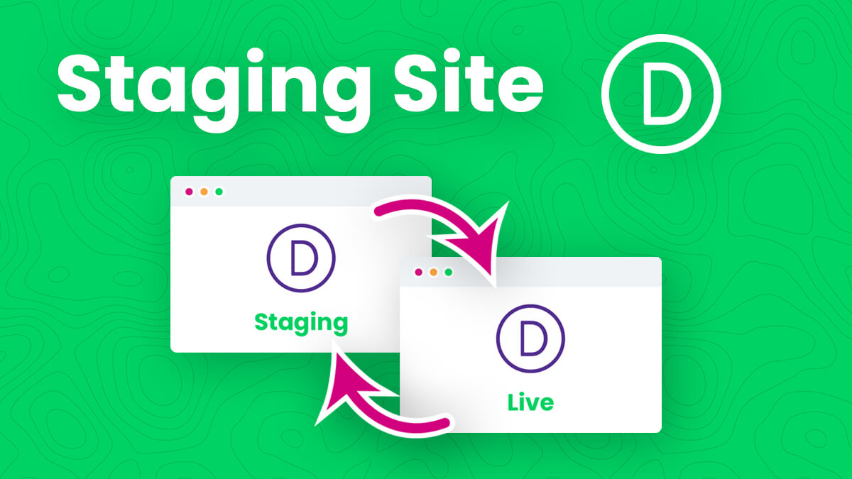 How To Create And Use A Divi Staging Site