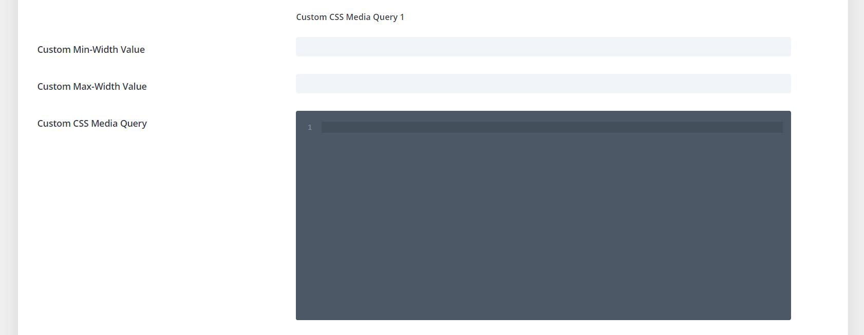 Divi Responsive Helper Custom CSS Media Queries Settings