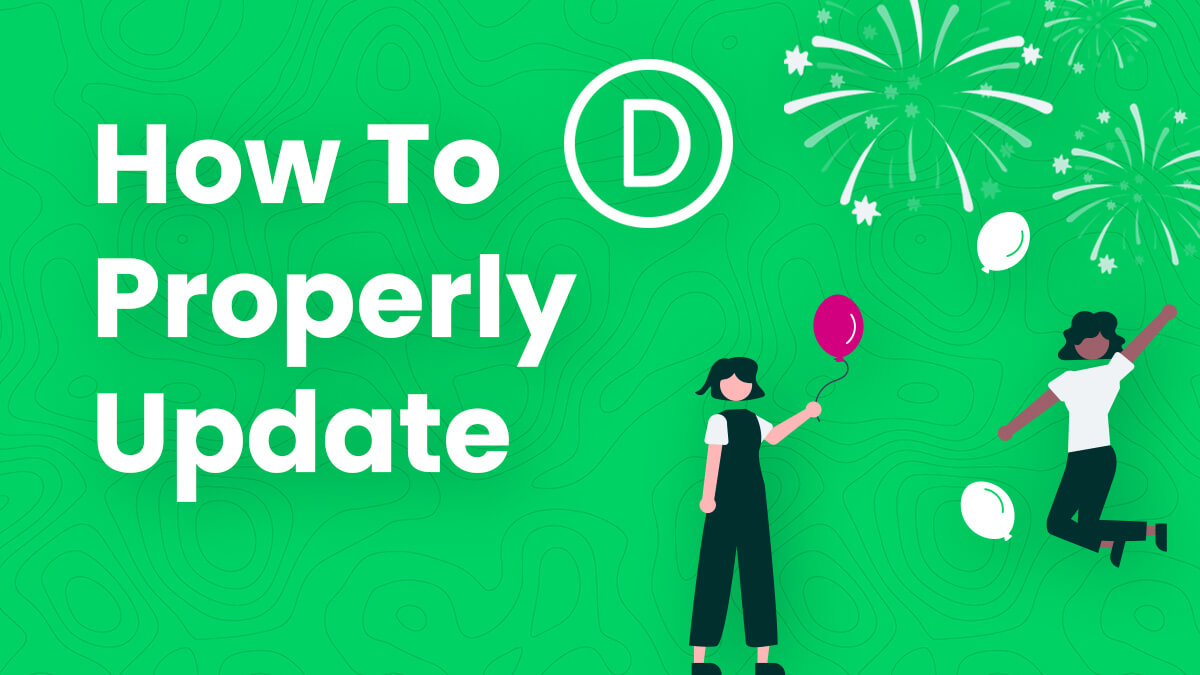 How To Properly Update Divi